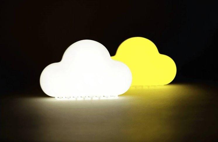 雲朵聲控創意節能小夜燈
