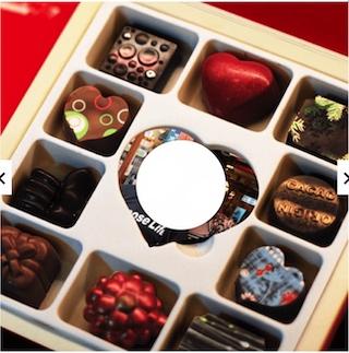 情人節巧克力禮盒