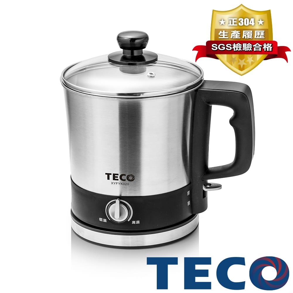TECO東元 304不鏽鋼快煮美食鍋