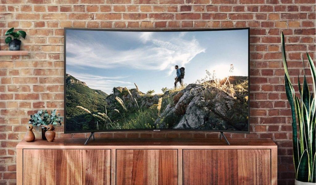 SAMSUNG 三星 55吋 4K Smart曲面連網液晶電視 UA55NU7300WXZW