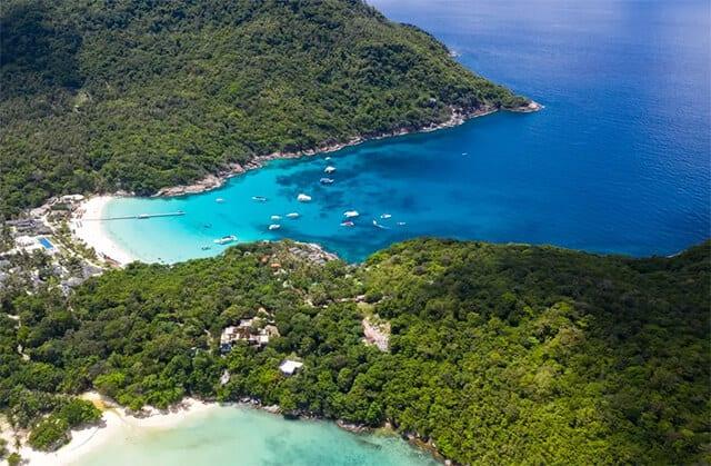 皇帝島和珊瑚島一日遊