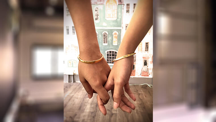 金工情侶手環