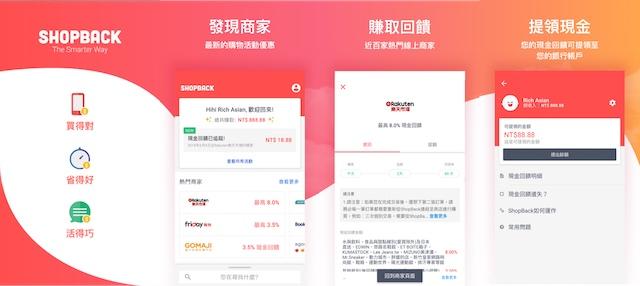 ShopBack 現金回饋網 App