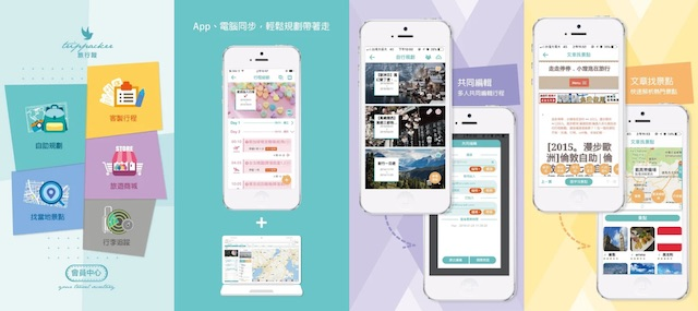 旅行蹤app