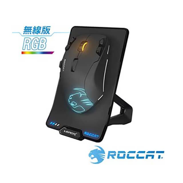 ROCCAT Leadr 鈦鯊豹 無線多按鈕電競滑鼠