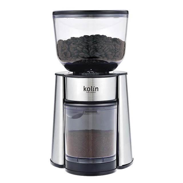 Kolin歌林20段錐磨盤專業磨豆機 KJE-LNG603