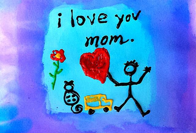 母親節手作卡片
