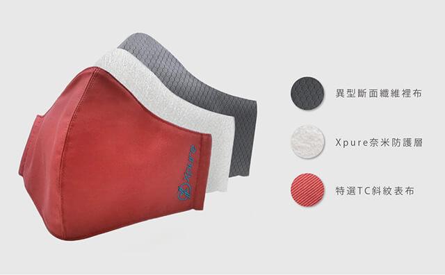 Xpure淨對流 抗霾PM2.5口罩