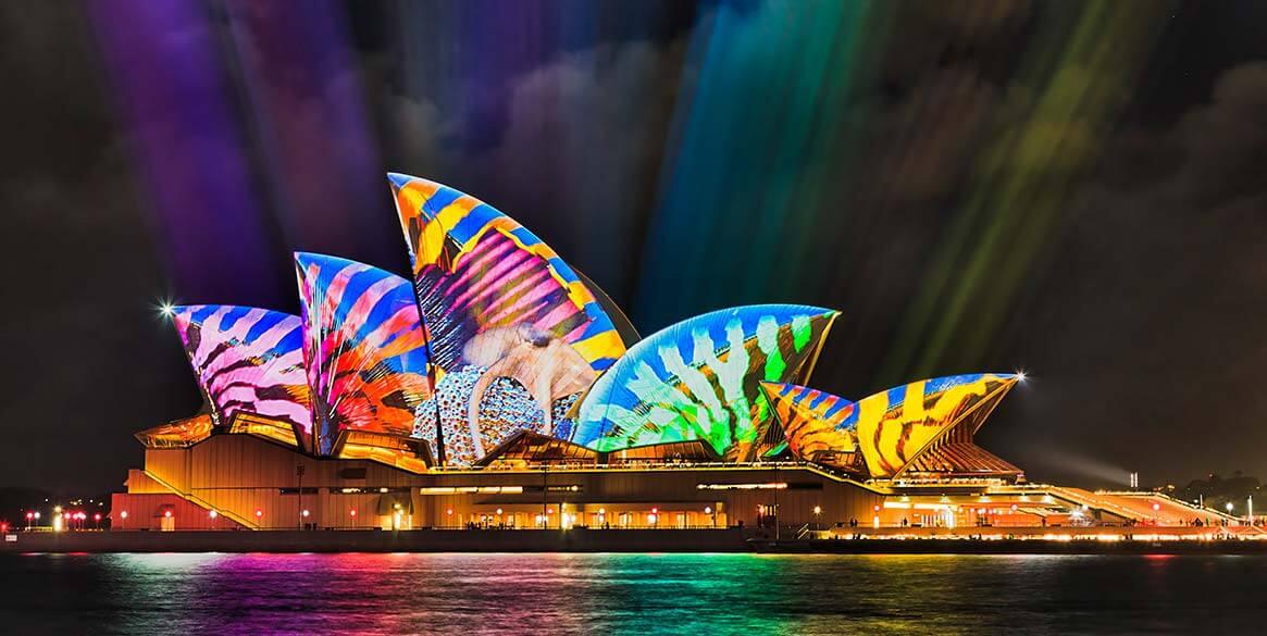 Vivid Sydney 繽紛雪梨燈光藝術節:活動時間、行程、住宿懶人包