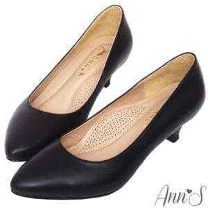 Ann'S黑色跟鞋
