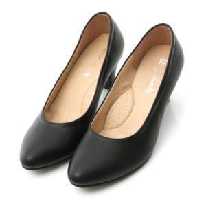 D+AF黑色跟鞋