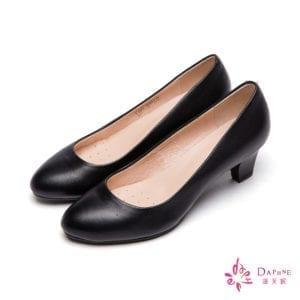 DAPHNE黑色跟鞋