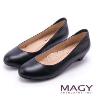 Magy黑色跟鞋