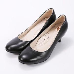SM黑色跟鞋