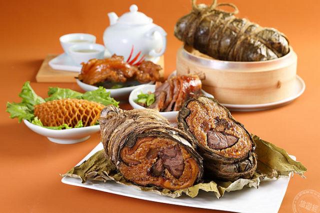 天香犇牛三寶粽