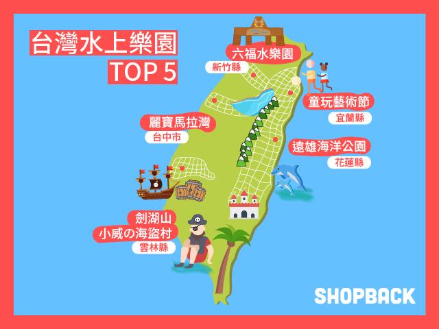 台灣水上樂園推薦