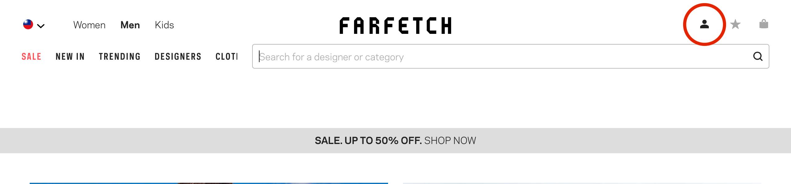 2019 farfetch 網購教學註冊帳號