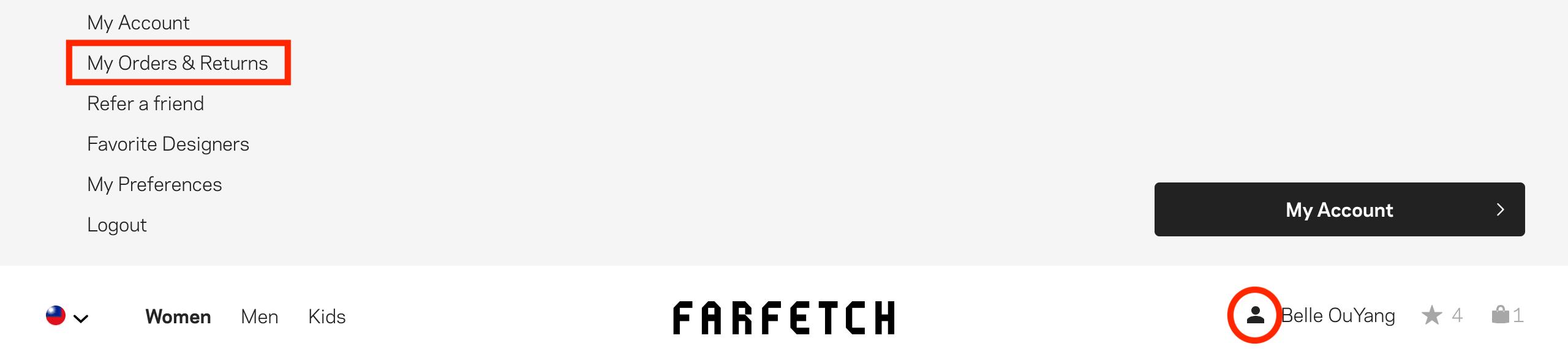 2019 farfetch 網購教學退貨