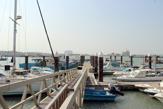 新竹免費景點 南寮漁港