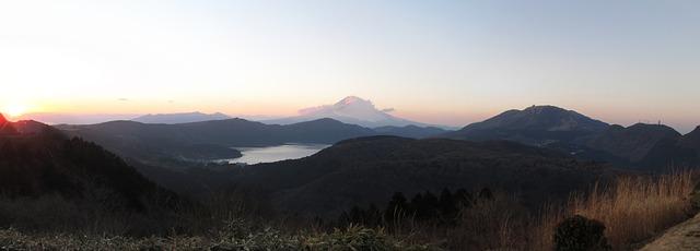 日本避暑勝地箱根
