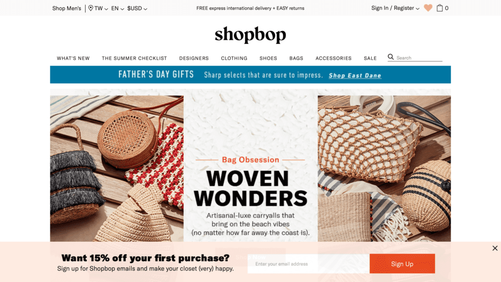 shopbop必買品牌