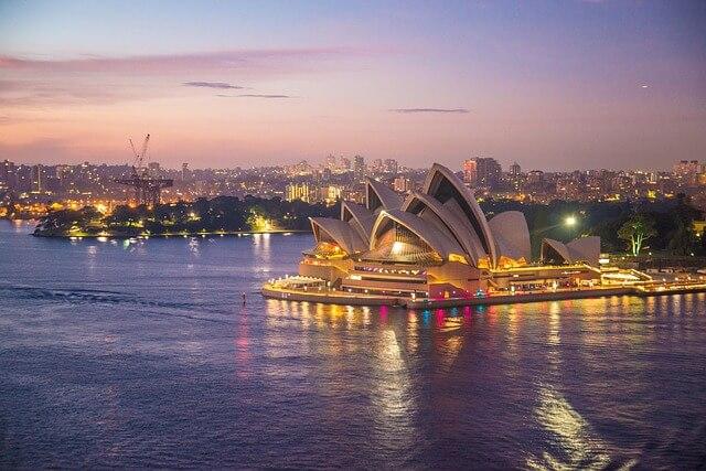 國外避暑勝地澳洲雪梨