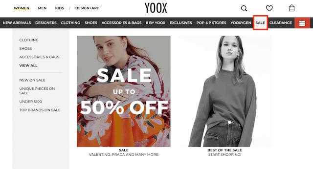 YOOX特賣