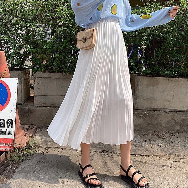 Rice-Pleated-Skirt