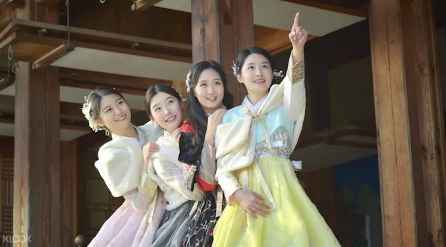 Hanboknam韓服