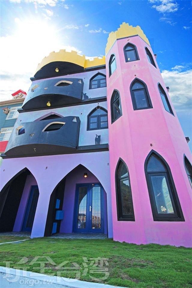 綠島 月光城堡潛水民宿 包棟民宿