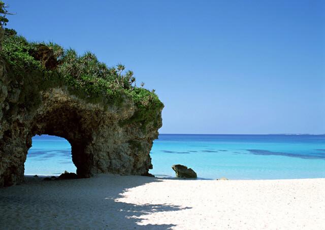 宮古島旅遊景點 砂山海灘