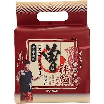 [中元限量]曾拌麵-香辣豆撈