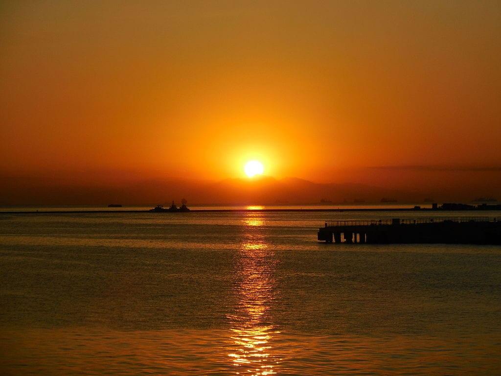 馬尼拉灣夕陽