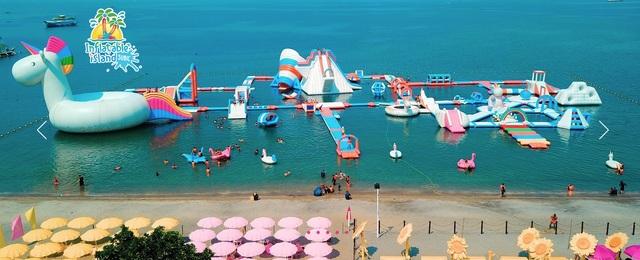 菲律賓克拉克景點 蘇比克灣水上充氣樂園