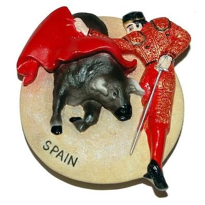西班牙鬥牛紀念品