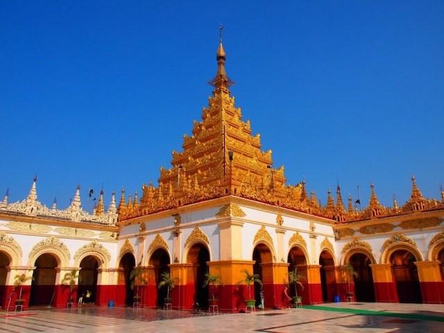 馬哈木尼佛寺(Mahamuni Buddha Temple)