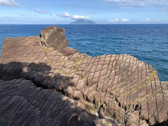 宜蘭岩石地形