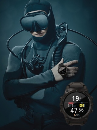 Shearwater teric 潛水電腦錶