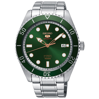 SEIKO 精工5號綠水鬼機械腕錶