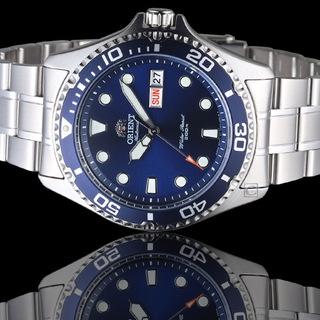 ORIENT 東方錶 藍水鬼潛水機械錶