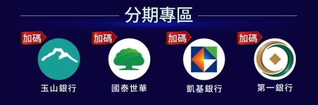 2019 蝦皮刷卡優惠活動 9月