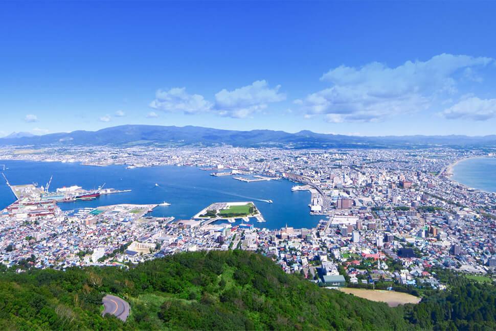 封面圖片來源:函館山纜車官網