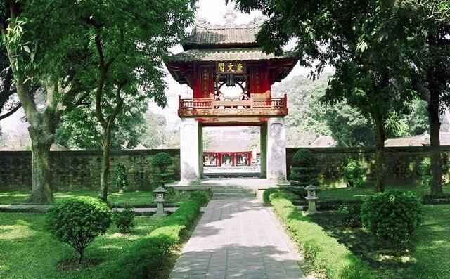河內景點 河內文廟
