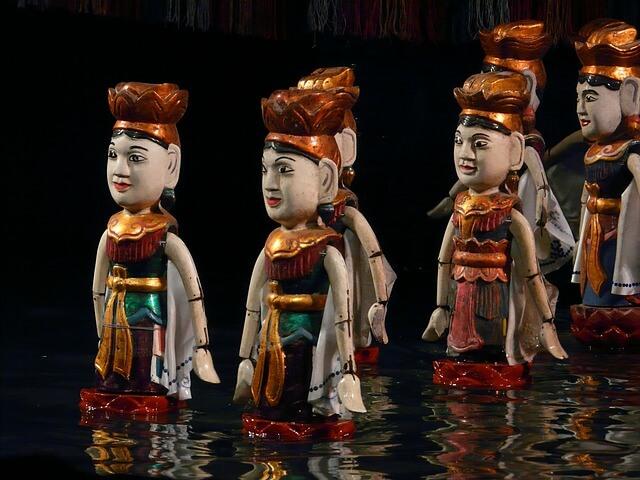 河內景點 昇龍水上木偶劇院
