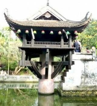 河內景點 一柱寺