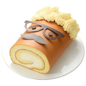 歐多桑的笑顏生乳捲蛋糕