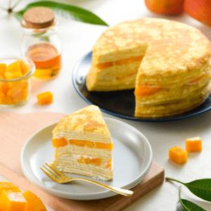 初夏糖風 芒果千層蛋糕