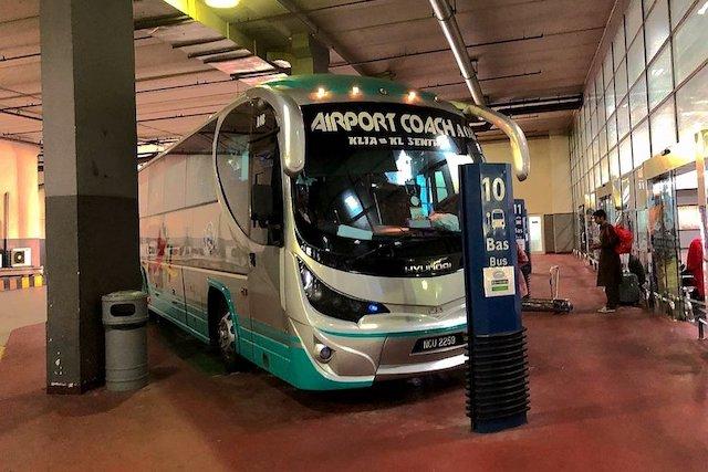 吉隆坡機場到市區交通 機場巴士