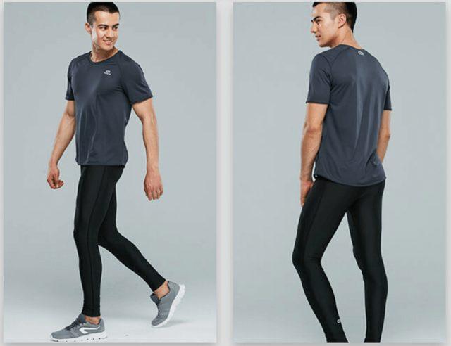 【初階】男士透氣排汗跑步緊身褲