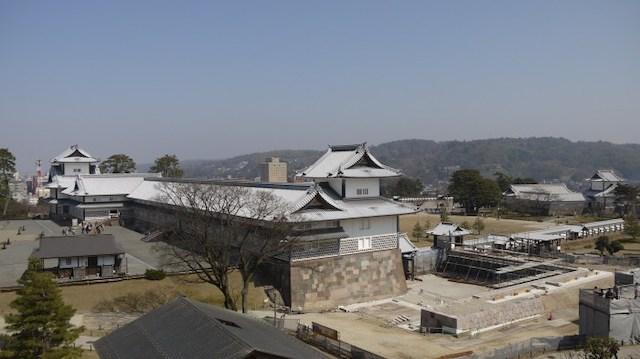 金澤城(金沢城)